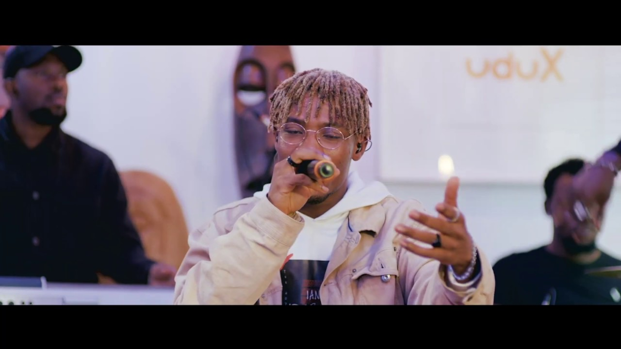 Joeboy Performs Live On uduX's Xswitch