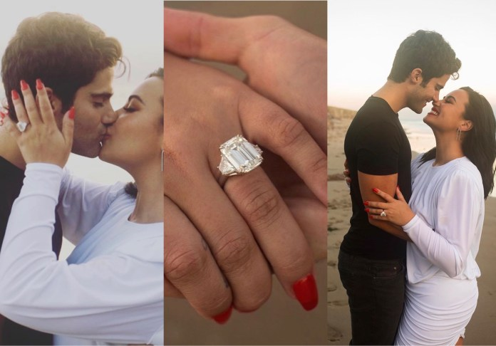You are currently viewing Demi Lovato Announces Engagement To Max Ehrich