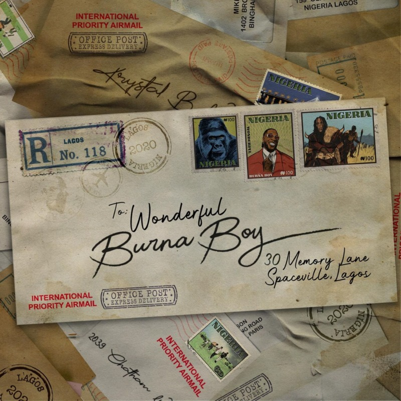 See Burna Boy's Visuals For 'Wonderful'