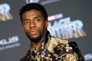 Read more about the article Black Panther Stars Pay Respects To Chadwick Boseman