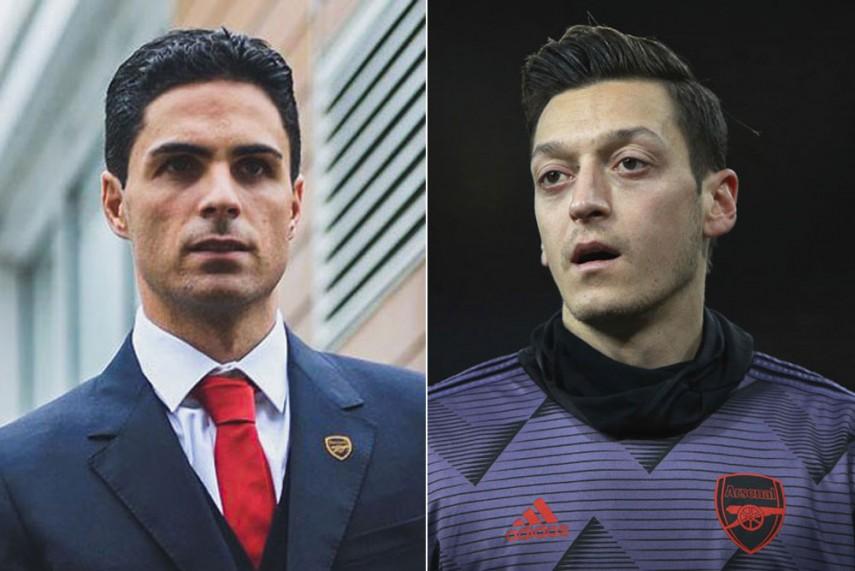 Mikel Arteta Hints Possible Ozil Return To Arsenal Squad