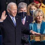 Inauguration Ceremony Of Joe Biden And Kamala Harris